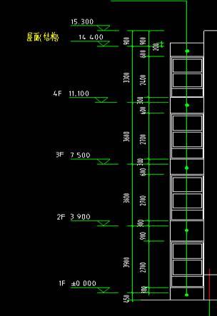 一般图纸设计的建筑标高与结构标高不